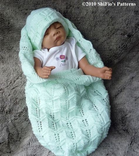 baby cocoon knitting pattern knitting pattern for baby cocoon hat preemie 0 3 3