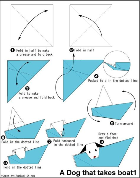 origami boat printable 17 best images about origami on for