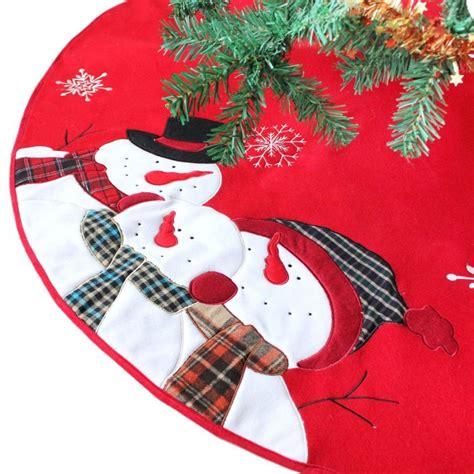 embroidered tree skirts embroidered tree skirt 28 images small reindeer