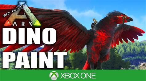 Dino Paint Ark Survival Evolved Xbox One