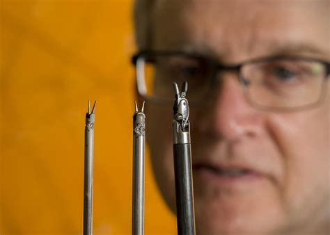 origami tools surgical tools made smaller with origami to make surgery