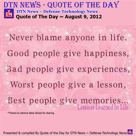 quote of the day thursday quotes of the day quotesgram