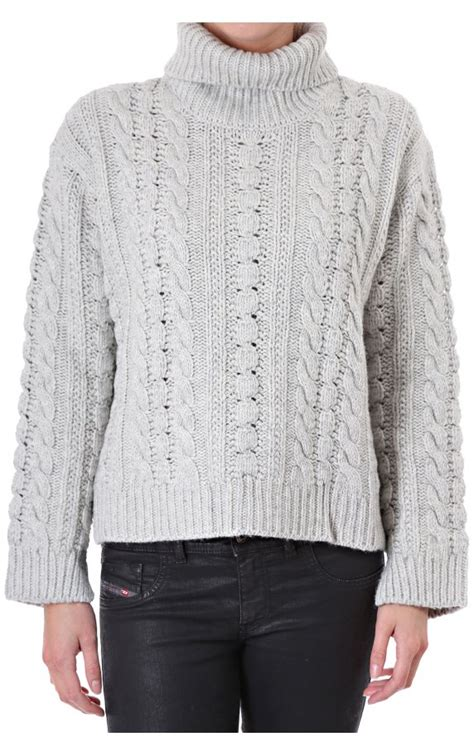 chunky cable knit olive womens polo neck chunky cardigan cable knit
