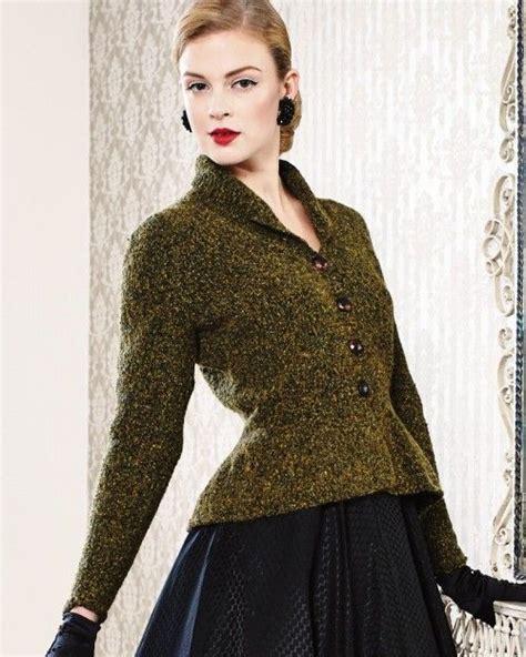 peplum knitting patterns peplum jacket from debbie bliss magazine 11 at