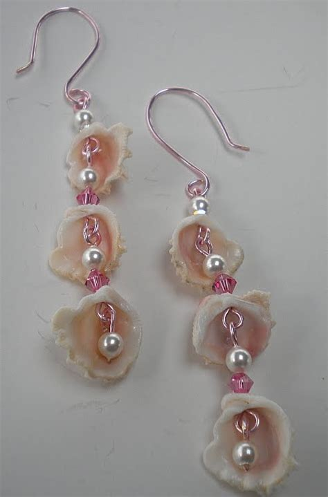 how to make jewelry with shells prim hill studio friday flickr inspiration sea