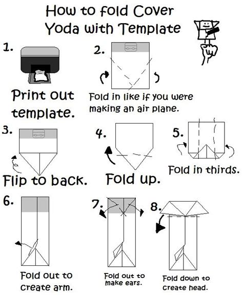 how to fold an origami book origami yoda search results origami yoda page 10