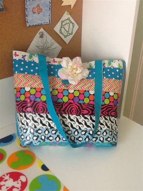 duct craft projects diy duct tote craft ideas