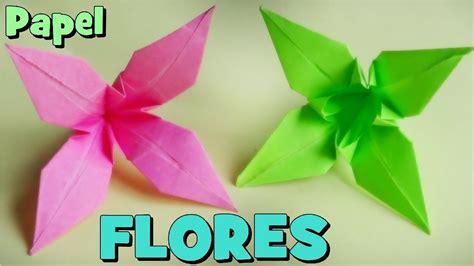 flor origami c 243 mo hacer una flor de papel origami lirio