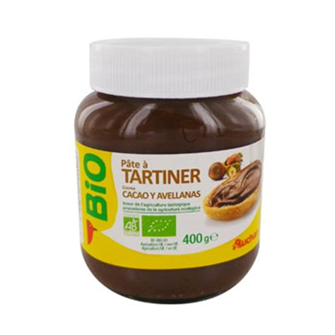 pate a tartiner bio auchan 400g simply market