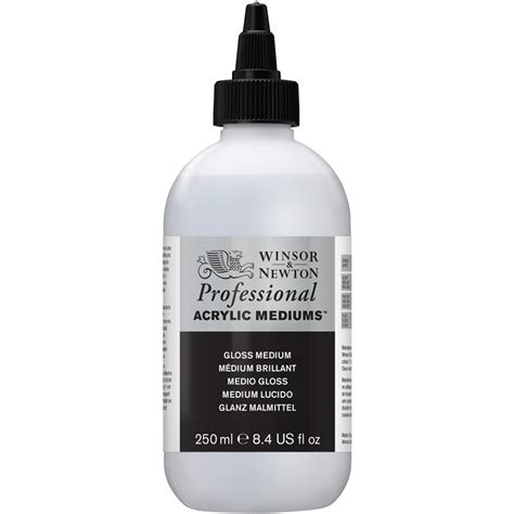 acrylic painting with gloss medium professional acrylic gloss medium winsor newton