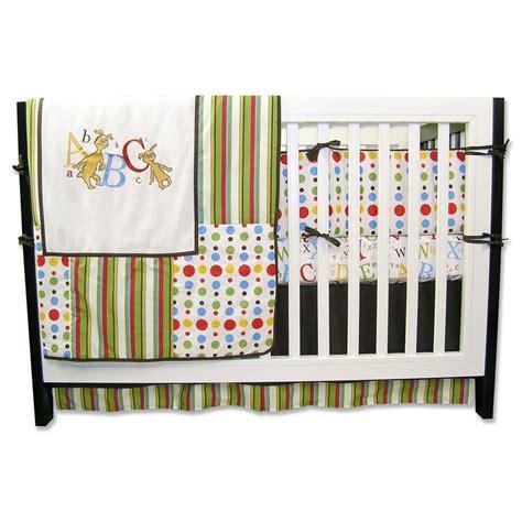dr seuss crib bedding set dr seuss abc 4 crib bedding set