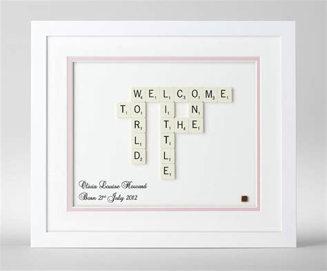 baby scrabble personalised baby scrabble by copperdot