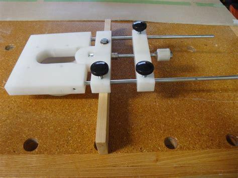 router woodworking projects mirco adjustment router jig by julian lumberjocks