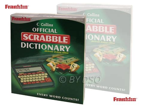 ed scrabble dictionary franklin collins official scrabble dictionary electronic
