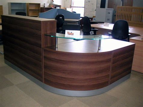 office reception desk furniture second reception furniture second reception