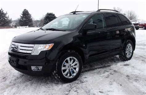 Black Ford Edge by 2008 Ford Edge Black 200 Interior And Exterior Images