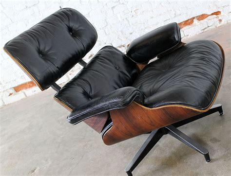 eames lounge chair vintage sold vintage eames lounge chair ottoman in black