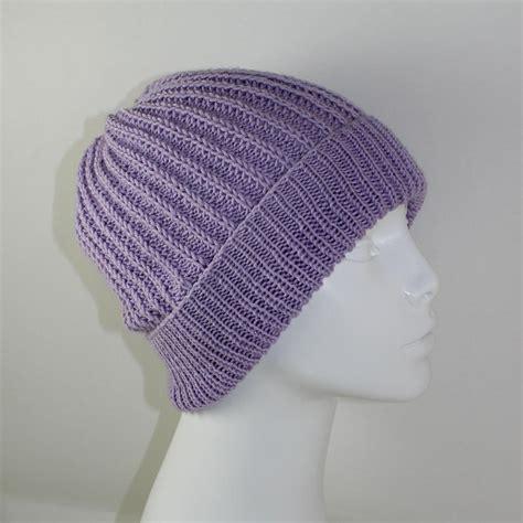 fisherman knitting pattern 4 ply fishermans rib unisex beanie hat knitting pattern by