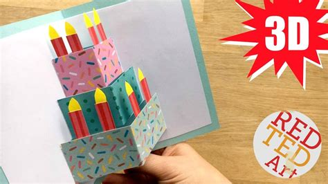 how to make a photo card easy cake card birthday card design weddings