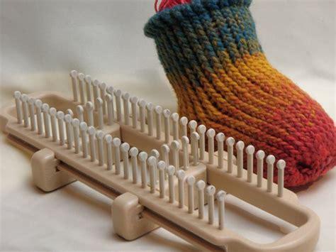 how to knit socks with a loom how to loom knit socks on a sock loom loom