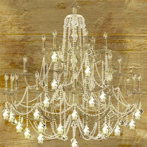 chandelier painting lit chandelier gold painting by sommers