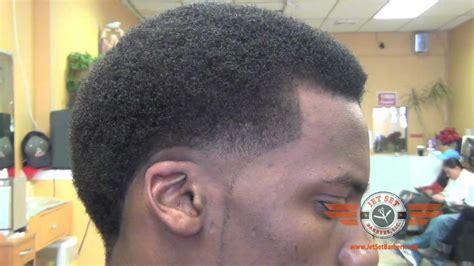 cruddy temp haircut black men taper fade