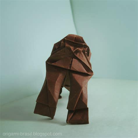 origami gorilla the origami forum view topic diego origami brasil
