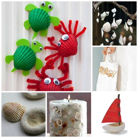 creative and craft ideas for 37 sea shell craft ideas ted s