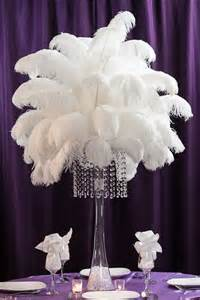 feather table centerpieces 25 best ideas about ostrich feather centerpieces on