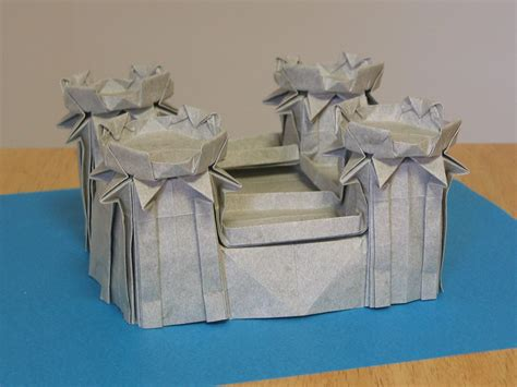 how to make a origami castle origami castle complete zing
