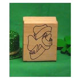 order rubber st buy st s day sts shamrock with hat rubber