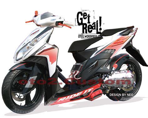 Modifikasi Motor Vario by Motor Cycle Modifikasi Modifikasi Honda Vario Cbs Techno
