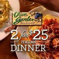 olive garden s new 2 for 25 italian dinner offers more than 1 000 different meal options
