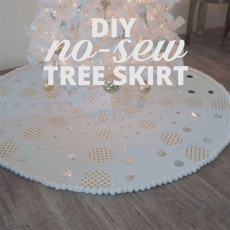 tree skirt pattern sew diy no sew tree skirt simple handmade