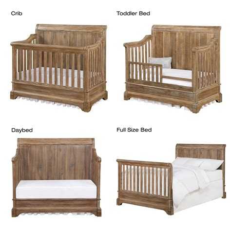 baby s convertible crib bertini pembrooke 4 in 1 convertible crib rustic