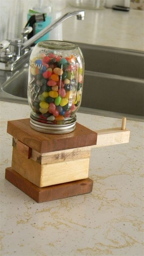wood craft projects for beginners diy jar dispenser diy projects