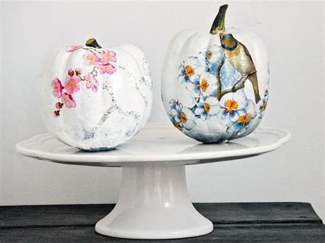 decoupage decorating ideas funky decoupage pumpkin hgtv