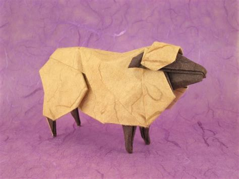sheep origami origami sheep goats and bovides page 1 of 2 gilad s