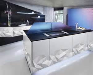 future kitchen design futuristic kitchen design inspired by origami digsdigs