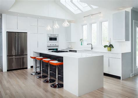 white kitchen cabinets ikea ikea high gloss white kitchen by modernash of nashville