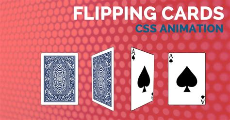 how to make flip card how to create flip card animation with css adogandesign