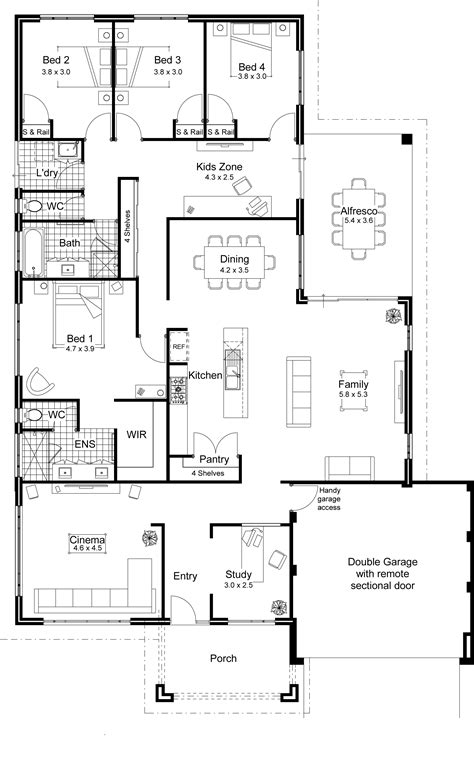 house plans with open floor plans architecture modern architecture in designing an open floor plan with best ideas home kits