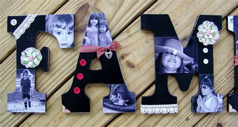decoupage wooden letters stuckonusketches decoupaged wooden letters tutorial 6 17