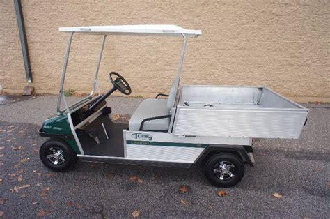 Club Car Dump Box by Club Car Turf 2 Carryall With Power Dump Box 48 Volt