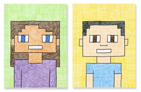 minecraft arts and crafts projects minecraft selfies projects for
