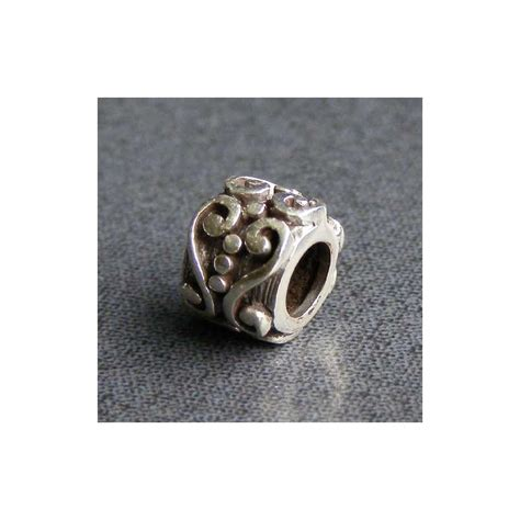 sterling silver spacer sterling silver filigree spacer charm