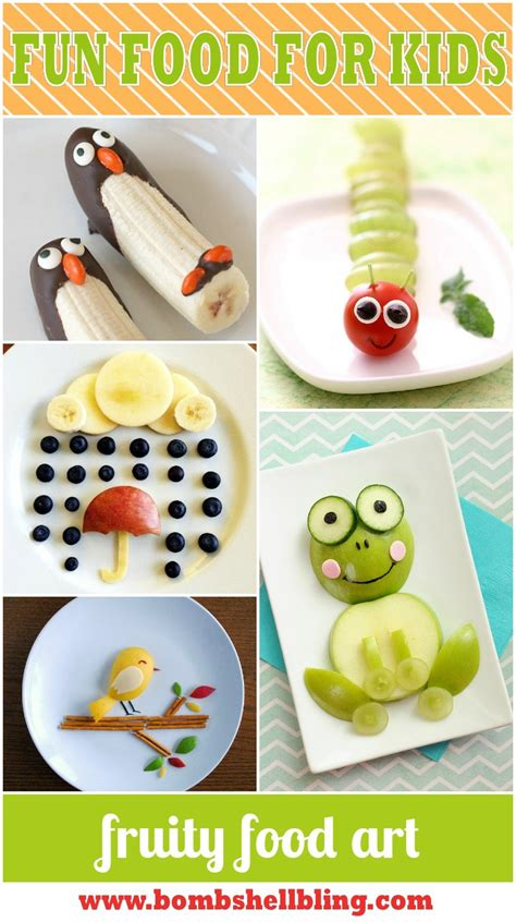 food craft for ideas for food for