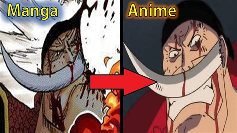 one anime vs one 5 anime differences