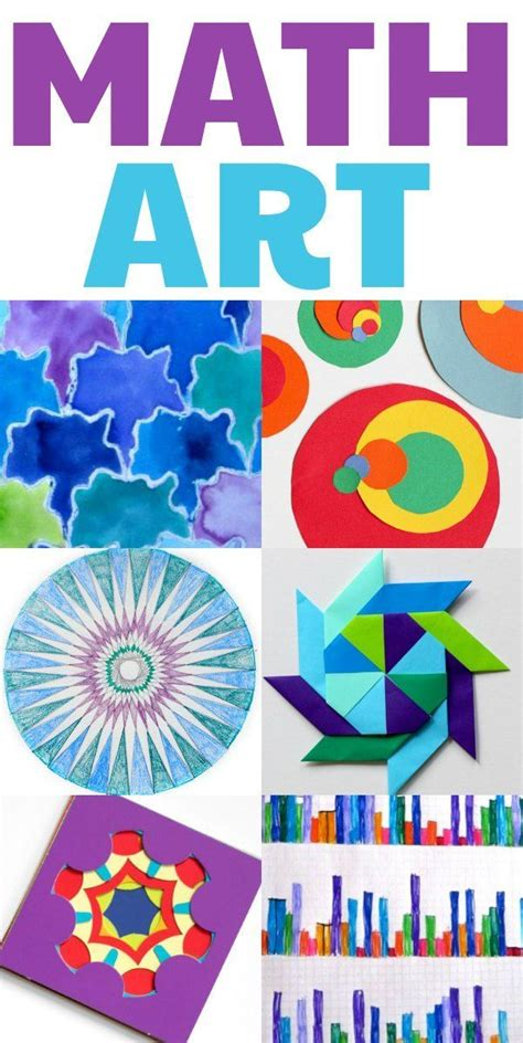 math craft projects cool math projects for home or classroom clever