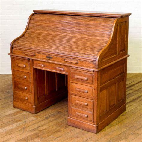 roll top desk edwardian oak roll top desk 364542 sellingantiques co uk